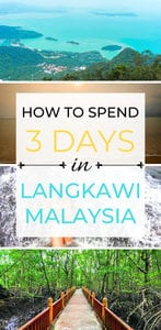 If you're looking for fun things to do in Langkawi, Malaysia you've come to the right place! Langkawi Island is filled with tons of beautiful islands, fun activities, and delicious food! This complete guide will show you what to do in Langkawi with kids, and for adventure seekers! #travel #wanderlust #travelguide #langkawi