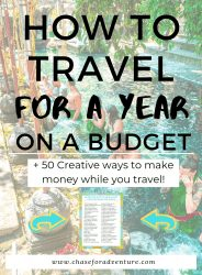 how to travel the world full-time on a budget for over a year