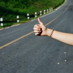 Hitchhiking, how to find transportation