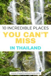 Looking for where to go in Thailand? Here's all of our favorite best places to in Thailand to visit, including a few hidden gems and the best places to stay in Thailand. With amazing places like Koh Phi Phi, Bangkok and Krabi, and Railay Beach you're going to love this comprehensive list for both backpackers and holiday-makers. We cover the best things to do in Thailand, where to go in Thailand, and where to stay in Thailand! Click through! #Thailand #thailandtrip #travelthailand #thailandguide