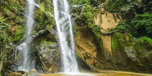 Mok Fa Waterfall in Pai Thailand