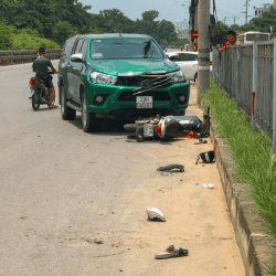 Hanoi Motorbike Accident while living in Hanoi