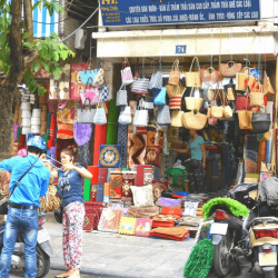 Living in Hanoi's shop streets in the Old Quarter