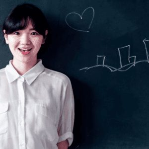 Child Learning English Online from China