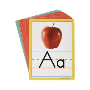 Alphabet cards used for teaching English online as a Digital Nomad