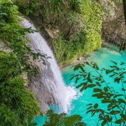 Kawasan Falls in Cebu Philippines