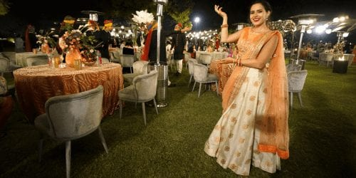Digital Nomad year in review at an indian wedding
