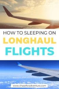 How to sleep on long haul flights