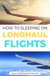 How to sleep on long haul flights