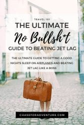 The Ultimate no bs guide to sleeping on a plane and beating jetlag