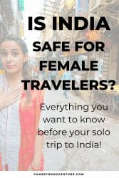 is india safe to visit for solo female travelers