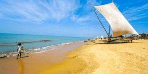 Negombo Beach Sri Lanka for Digital Nomads