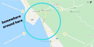 Cat Ba War Tunnels map