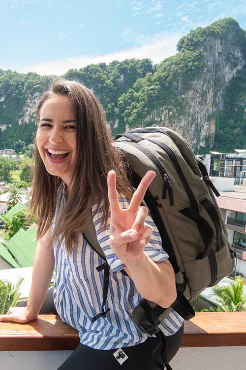 Annette Fortner, fulltime traveler and digital nomad