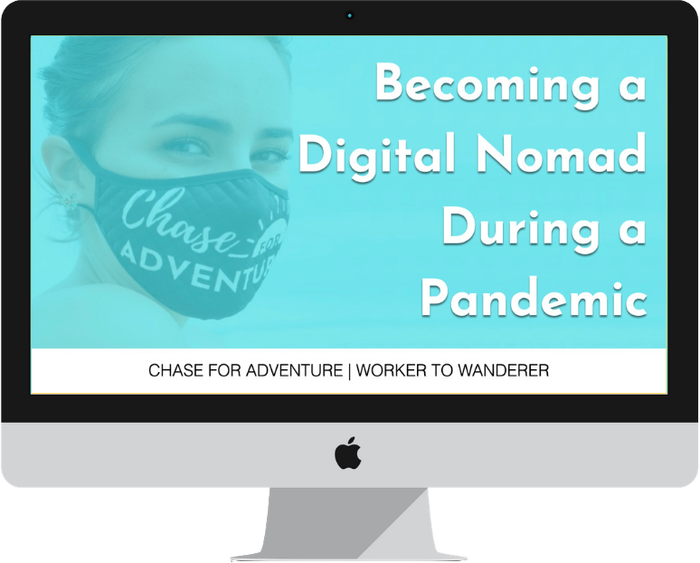 Worker to Wanderer - Learn how to become a digital nomad during the pandemic masterclass