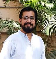 Prashant Gaur giving a testimonial for 30 Days to Nomad